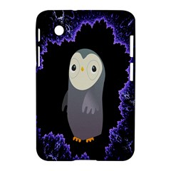 Fractal Image With Penguin Drawing Samsung Galaxy Tab 2 (7 ) P3100 Hardshell Case