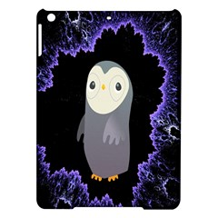 Fractal Image With Penguin Drawing iPad Air Hardshell Cases