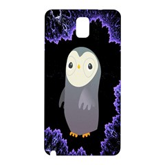 Fractal Image With Penguin Drawing Samsung Galaxy Note 3 N9005 Hardshell Back Case