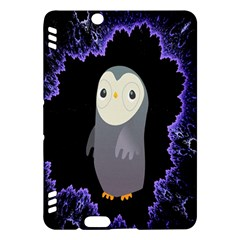 Fractal Image With Penguin Drawing Kindle Fire Hdx Hardshell Case