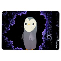 Fractal Image With Penguin Drawing iPad Air Flip