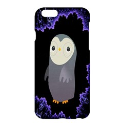 Fractal Image With Penguin Drawing Apple iPhone 6 Plus/6S Plus Hardshell Case