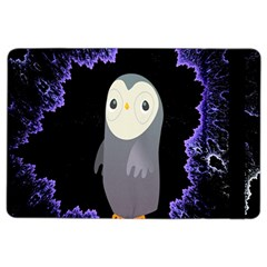 Fractal Image With Penguin Drawing Ipad Air 2 Flip