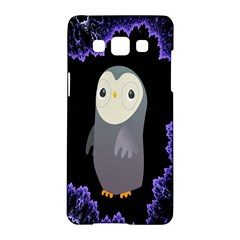 Fractal Image With Penguin Drawing Samsung Galaxy A5 Hardshell Case