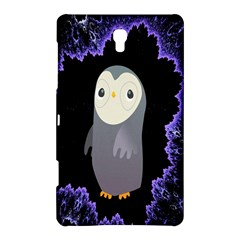 Fractal Image With Penguin Drawing Samsung Galaxy Tab S (8 4 ) Hardshell Case