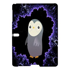 Fractal Image With Penguin Drawing Samsung Galaxy Tab S (10.5 ) Hardshell Case