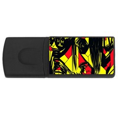 Easy Colors Abstract Pattern USB Flash Drive Rectangular (1 GB)