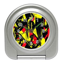Easy Colors Abstract Pattern Travel Alarm Clocks