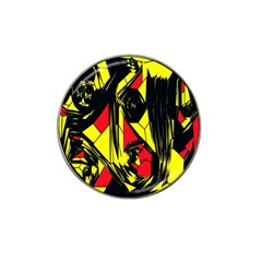 Easy Colors Abstract Pattern Hat Clip Ball Marker (4 pack)