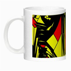 Easy Colors Abstract Pattern Night Luminous Mugs