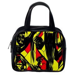 Easy Colors Abstract Pattern Classic Handbags (One Side)
