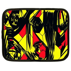 Easy Colors Abstract Pattern Netbook Case (xl)