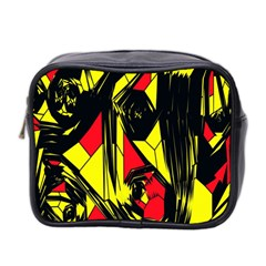 Easy Colors Abstract Pattern Mini Toiletries Bag 2-Side