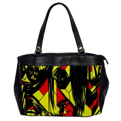Easy Colors Abstract Pattern Office Handbags