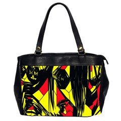 Easy Colors Abstract Pattern Office Handbags (2 Sides)
