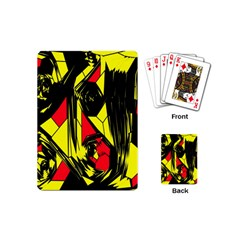 Easy Colors Abstract Pattern Playing Cards (Mini)