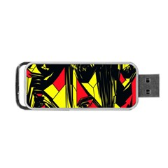 Easy Colors Abstract Pattern Portable Usb Flash (one Side)