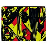 Easy Colors Abstract Pattern Cosmetic Bag (XXXL)  Front