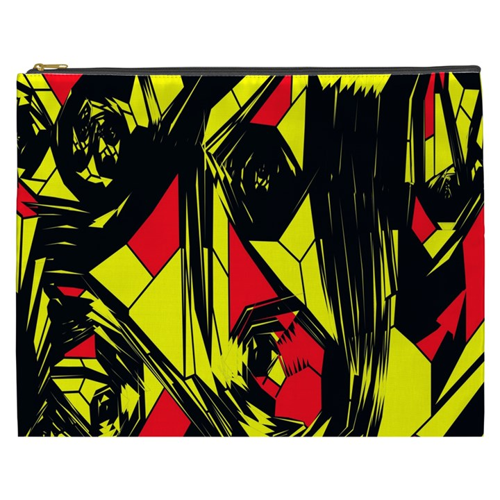 Easy Colors Abstract Pattern Cosmetic Bag (XXXL)