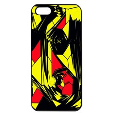 Easy Colors Abstract Pattern Apple Iphone 5 Seamless Case (black)