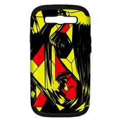 Easy Colors Abstract Pattern Samsung Galaxy S III Hardshell Case (PC+Silicone)