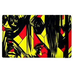 Easy Colors Abstract Pattern Apple Ipad 2 Flip Case