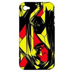 Easy Colors Abstract Pattern Apple Iphone 4/4s Hardshell Case (pc+silicone)