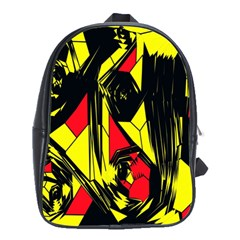 Easy Colors Abstract Pattern School Bags (xl)