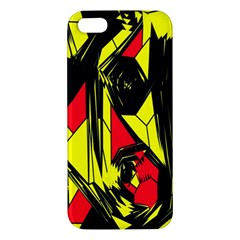 Easy Colors Abstract Pattern Apple Iphone 5 Premium Hardshell Case