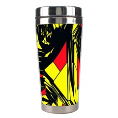 Easy Colors Abstract Pattern Stainless Steel Travel Tumblers