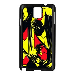 Easy Colors Abstract Pattern Samsung Galaxy Note 3 N9005 Case (Black)