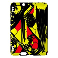 Easy Colors Abstract Pattern Kindle Fire HDX Hardshell Case