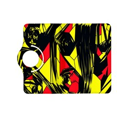 Easy Colors Abstract Pattern Kindle Fire Hd (2013) Flip 360 Case