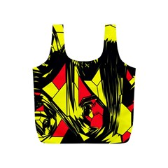 Easy Colors Abstract Pattern Full Print Recycle Bags (s)
