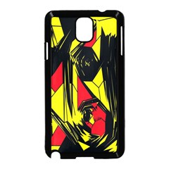 Easy Colors Abstract Pattern Samsung Galaxy Note 3 Neo Hardshell Case (black)