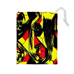 Easy Colors Abstract Pattern Drawstring Pouches (large)