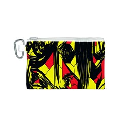 Easy Colors Abstract Pattern Canvas Cosmetic Bag (s)