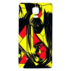 Easy Colors Abstract Pattern Galaxy Note 4 Back Case