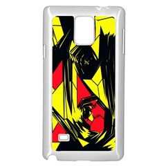 Easy Colors Abstract Pattern Samsung Galaxy Note 4 Case (White)