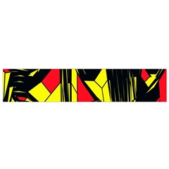 Easy Colors Abstract Pattern Flano Scarf (small)