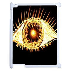 Flame Eye Burning Hot Eye Illustration Apple Ipad 2 Case (white)