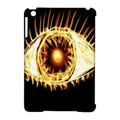 Flame Eye Burning Hot Eye Illustration Apple Ipad Mini Hardshell Case (compatible With Smart Cover)