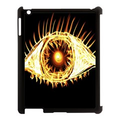 Flame Eye Burning Hot Eye Illustration Apple Ipad 3/4 Case (black)