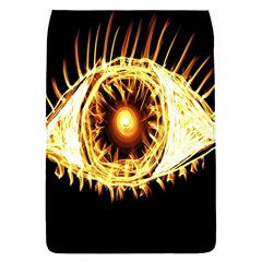 Flame Eye Burning Hot Eye Illustration Flap Covers (l)