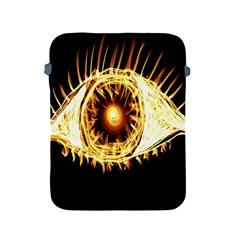 Flame Eye Burning Hot Eye Illustration Apple Ipad 2/3/4 Protective Soft Cases