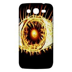 Flame Eye Burning Hot Eye Illustration Samsung Galaxy Mega 5.8 I9152 Hardshell Case