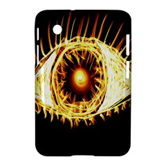 Flame Eye Burning Hot Eye Illustration Samsung Galaxy Tab 2 (7 ) P3100 Hardshell Case