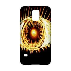 Flame Eye Burning Hot Eye Illustration Samsung Galaxy S5 Hardshell Case