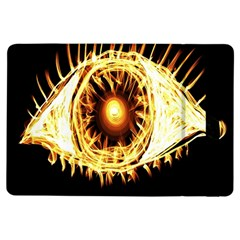 Flame Eye Burning Hot Eye Illustration Ipad Air Flip
