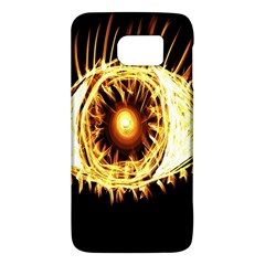 Flame Eye Burning Hot Eye Illustration Galaxy S6
